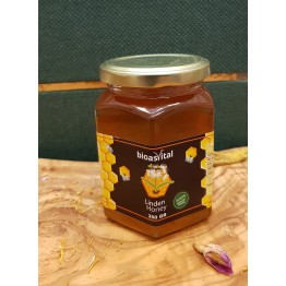 Bioasvital 100% Natural Linden Honey 350 gr