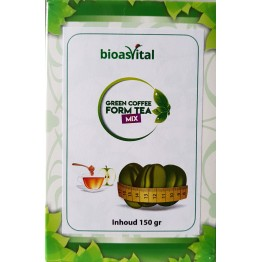 Bioasvital Natural Green Coffee Form Tea Mix