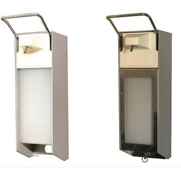 Desinfectie dispenser met Elleboog bediening 500 ml of 1000 ml